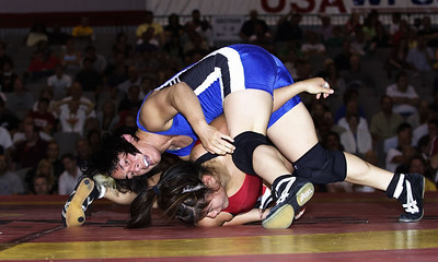 Women's Freestyle Championships 51 Kg,, Patricia Miranda (Sunkist Kids) def. Jenny Wong (Sunkist Kids)