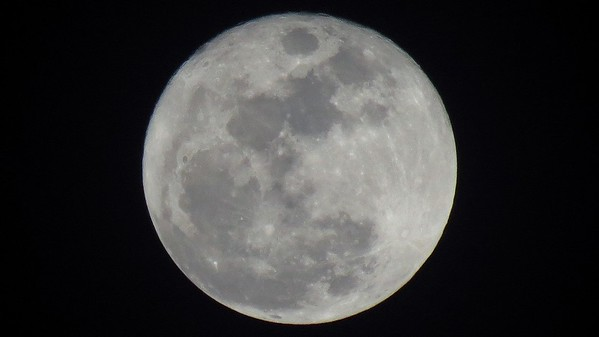 December 25:  A full moon for Christmas .  .  .