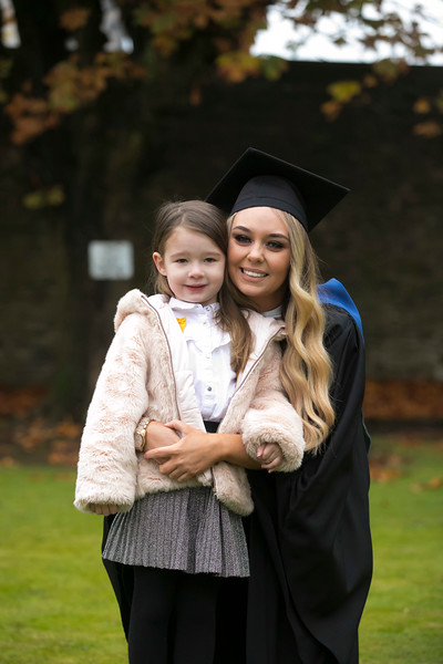 31/10/2018. Waterford Institute of Technology (WIT) Conferring Ceremonies 2018. Pictured is Laura and Rosie Donovan from Newbridge. Picture: Patrick Browne