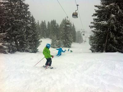Skifahren mit Patricia
