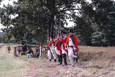 freeman farm battle reenactment