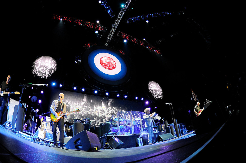 . DENVER, CO. - FEBRUARY 12: The Who performs during their Quadrophenia tour stop February 12, 2013 at Pepsi Center.  (Photo By John Leyba/The Denver Post)