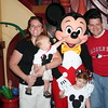 Tyler meets Mickey, he loved it!