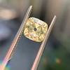 2.10ct Light Yellow Antique Peruzzi Cut Diamond, GIA W-X SI2 15