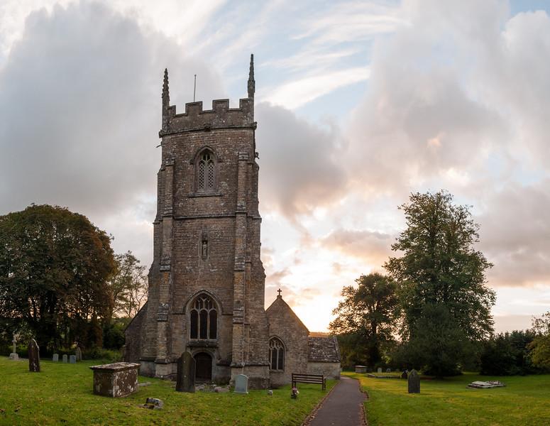 Corton Denham church