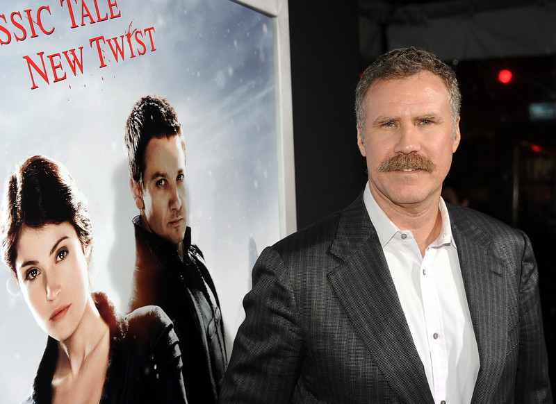 ". Actor/Producer Will Ferrell arrives for the Los Angeles premiere of Paramount  Pictures\' ""Hansel And Gretel Witch Hunters\"" at TCL Chinese Theatre on January 24, 2013 in Hollywood, California.  (Photo by Kevin Winter/Getty Images)"