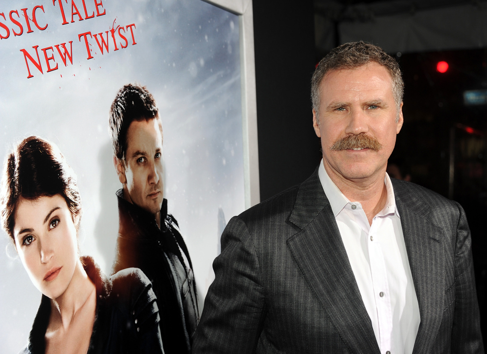 Description of . Actor/Producer Will Ferrell arrives for the Los Angeles premiere of Paramount  Pictures'