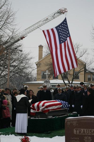 Skokie Fire Department Retired Fire Chief Jerome P. Burke Funeral