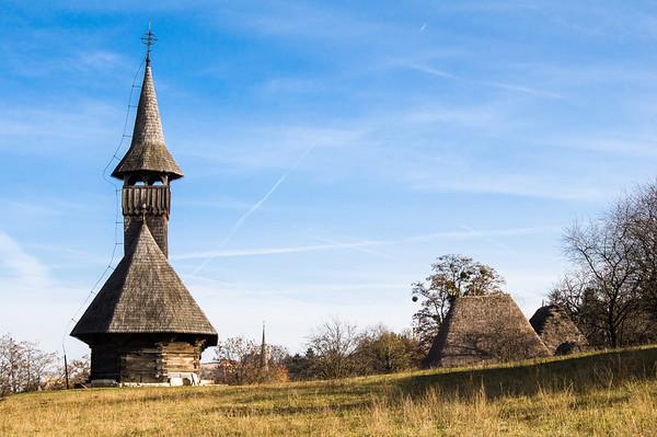 Ethnographic park, Cluj-Napoca, Romania