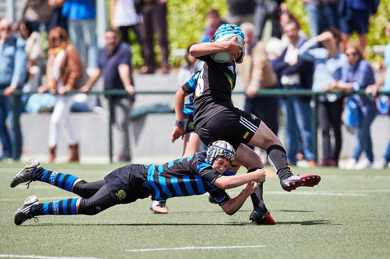 XV Hortaleza Negro vs Indus Azul: 10-20 (3° y 4° Oro)
