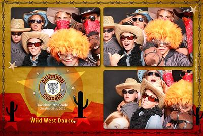 2019 Davidson Wild West Dance