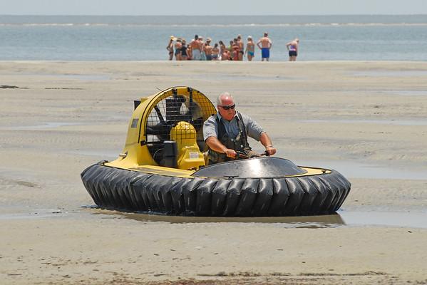 Glynn County EMA - Hovercraft Training 07-02-12