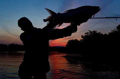 Tanzania Tigerfishing - Photos by Jim Klug / Confluence Films. Klug Photos. Fly fishing photos, fly fish photos, stock fly fishing photos, fly fishing travel photos.