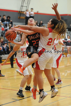 Dallas vs. South Albany Girls HS Basketball