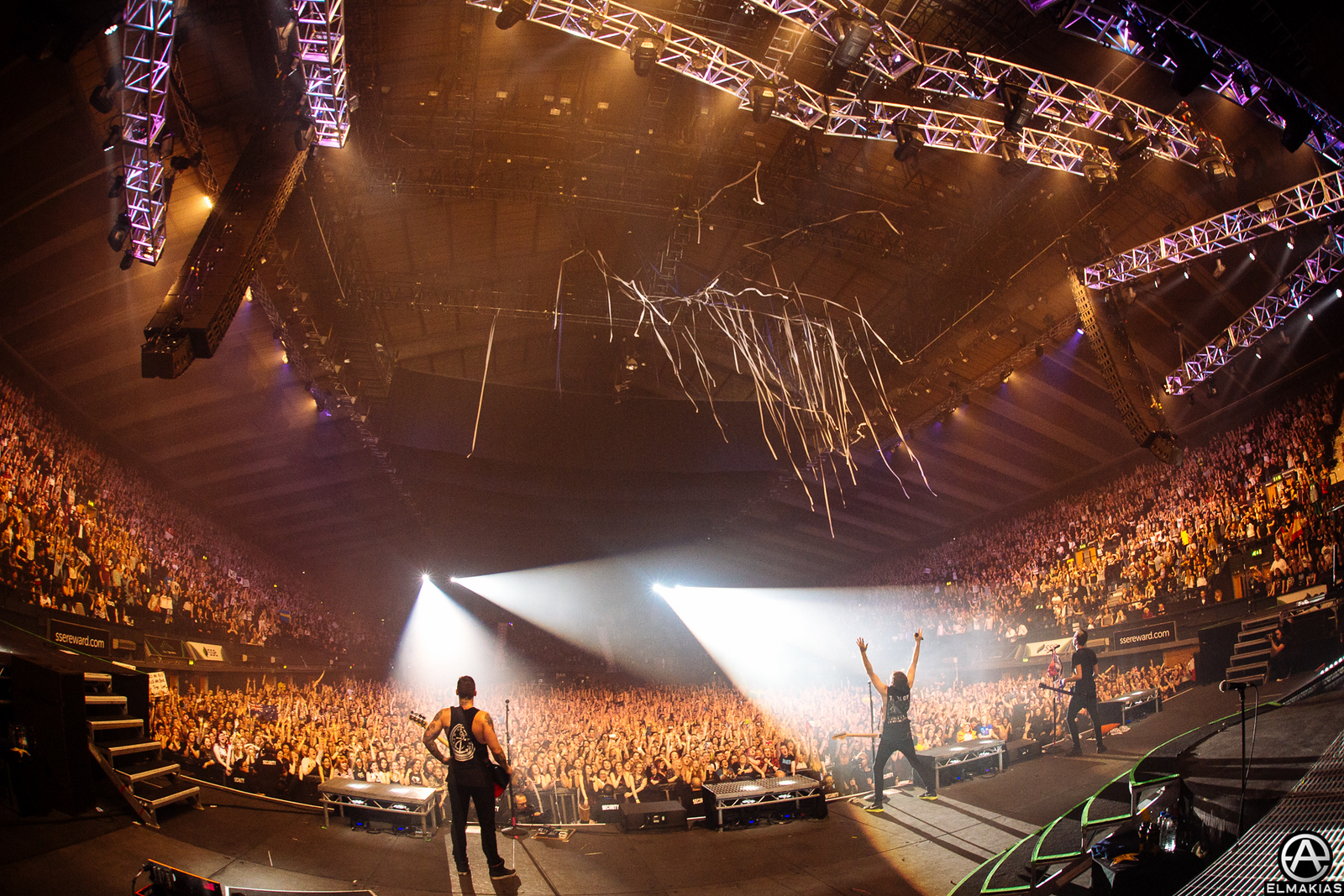 All Time Low live at Wembley Arena