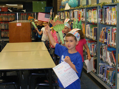 First Graders Celebrate Freedom