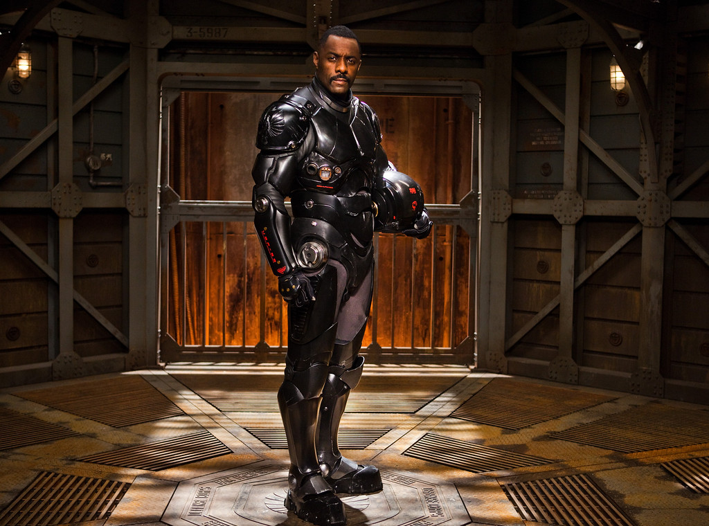 """. IDRIS ELBA as Stacker Pentecost in Warner Bros. Pictures and Legendary Pictures� sci-fi action adventure \""""PACIFIC RIM,\"""" a Warner Bros. Pictures release."""