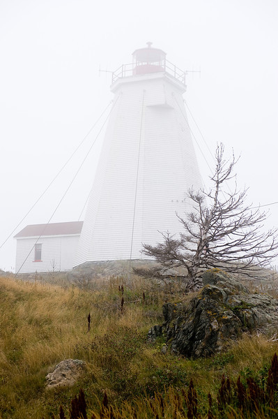Foggy day on the Grand Manan