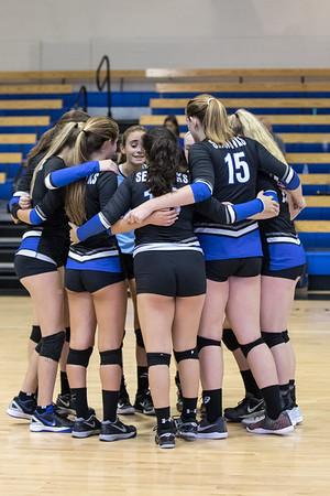 8-21-2017:  Varsity Girls Volleyball - CSN vs ECS