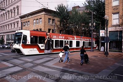 Portland Streetcar and TriMet MAX