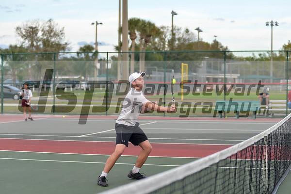 St. Cloud Boys Tennis 2.14.19