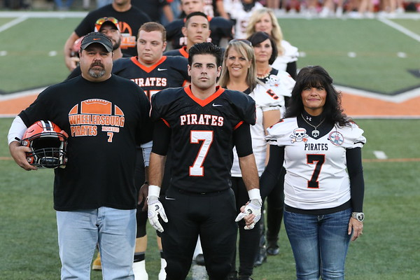 10 Football:  Senior/Parents' Night 2017