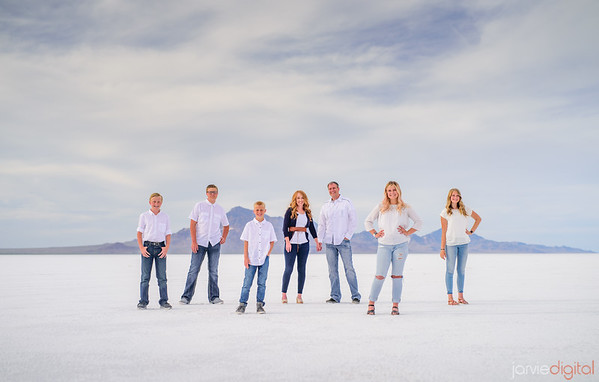 Salt Flats Engagement and Family