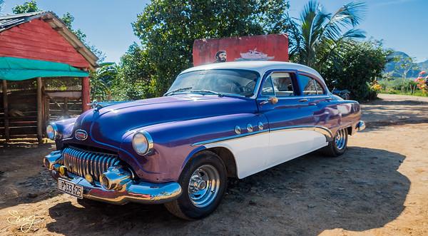 Classic Cuban Car. Viñales, Cuba