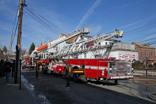 Providence- 2 Alarms, Chalkstone Ave- 2/17/08