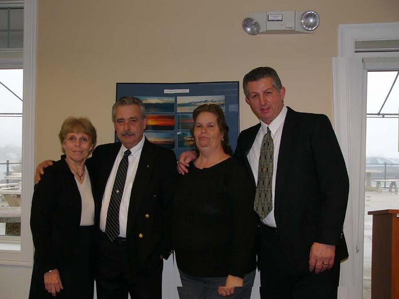 Ma Tante Jeannette's Family  Joan & Gene Morin, and Sharon & Albert DuFour