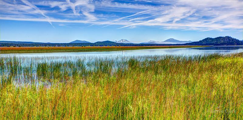 Davis Lake, Oregon