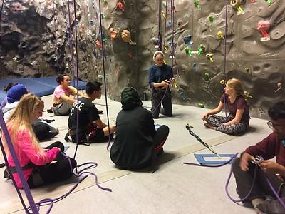 Indoor Rock Climbing 30Oct16