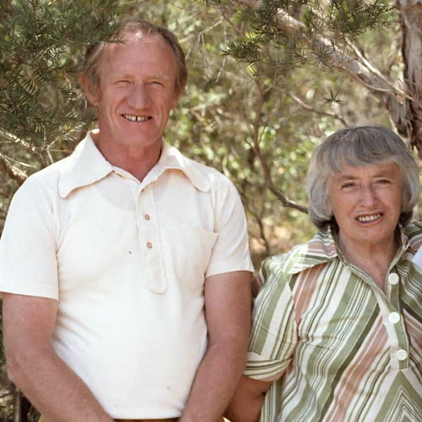 Colin Holmes and Isabel Forsyth, 1982