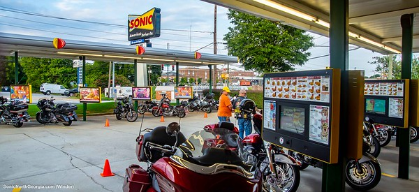 Bike Night Sonic Drive-In Winder GA July 2019