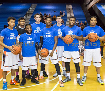 Boys Basketball Senior Night 2/13/15