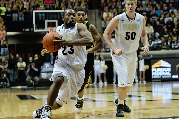 Purdue vs. Iowa, men's basketball