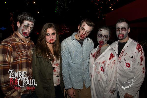 Zombie Halloween Pub Crawl