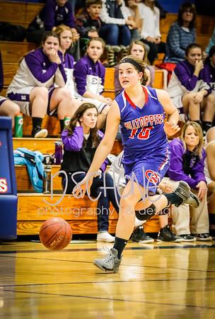 12-30-16 Girls Varsity Basketball vs Ellsworth