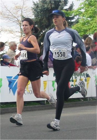2003 Times-Colonist 10K - Jill Hawe and Katya Herman