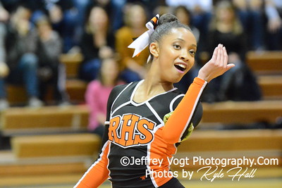 1-30-2016 Rockville HS Varsity Poms at Damascus HS, Photos by Jeffrey Vogt Photography with Kyle Hall