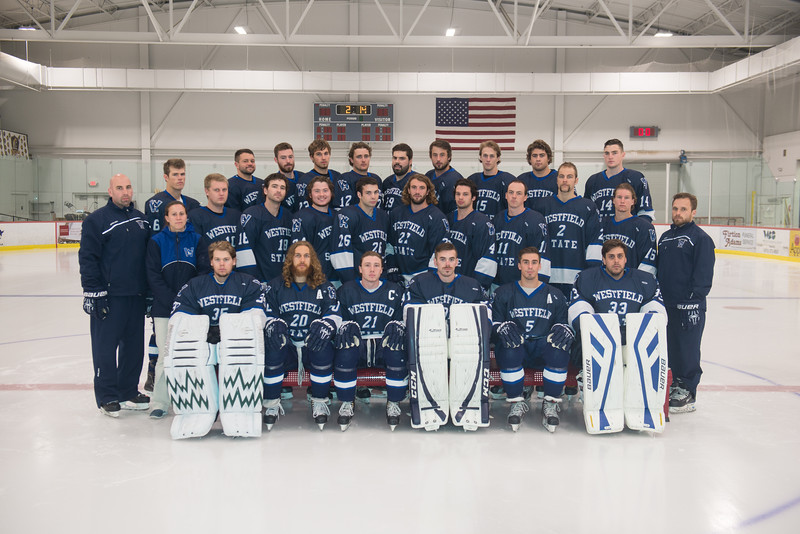 The 2014-15 Westfield State University Men's Ice Hockey Team