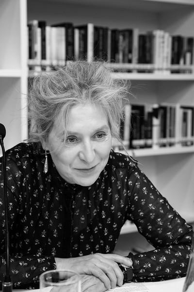 German Journalist and Novelist Elke Schmitter. Saint Petersburg, 2019.