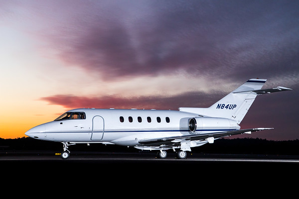 Hawker 800XP N84UP (High Res)