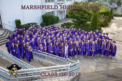 Marshfield High Graduation 2015