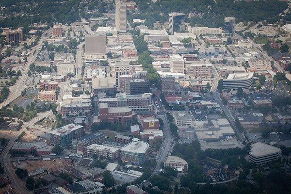 Downtown Greenville- Aerial