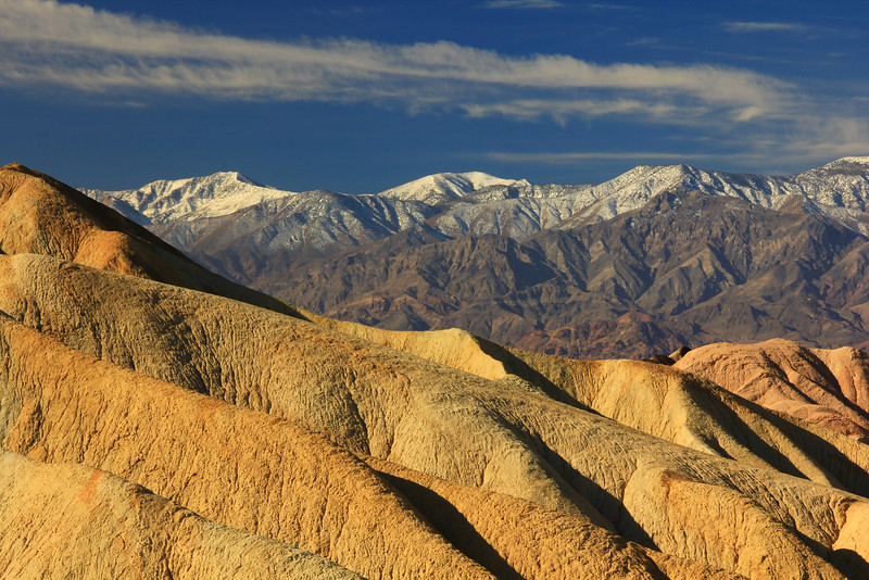 Panamint Range viewed from Golden Canyon