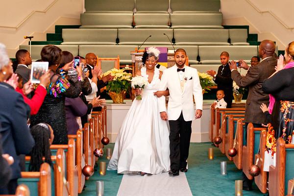 Tyree + Shafiq Wedding