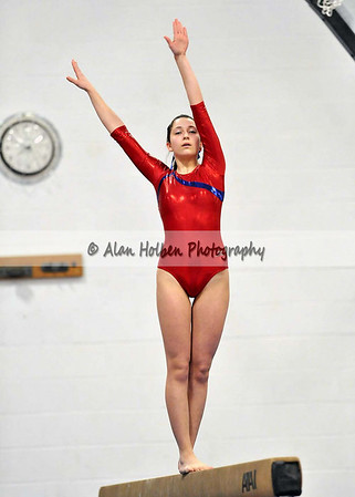 Gymnastics - Jackson NW at Mason - Mason beam