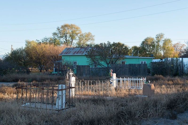 Church Graves, Northern New Mexico