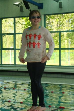 4, zwemmen met kleding